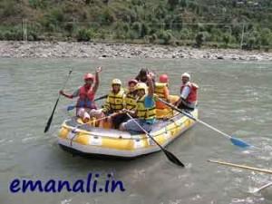 manali river rafting